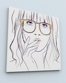 Big Glasses (Canvas)